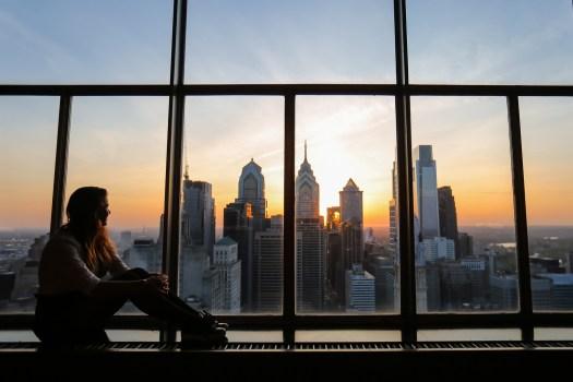 que faire à Philadelphie sunset tourisme blog