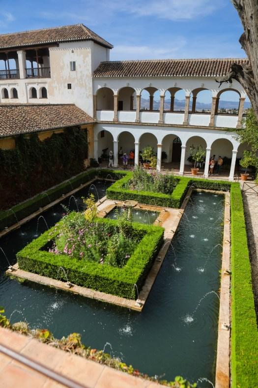 Visiter Alhambra Grenade