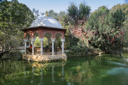 Séville parc Maria Luisa blog