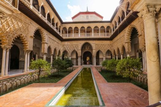 visiter l'Alcazar de Séville blog
