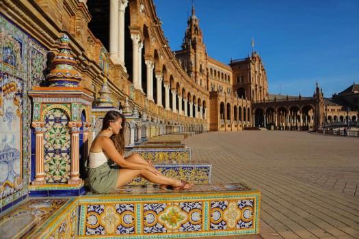 place d'Espagne Séville tourisme