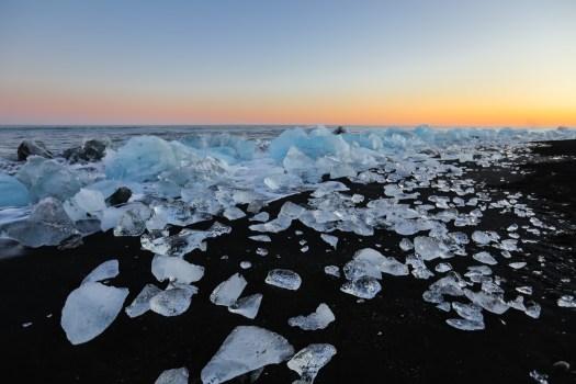 road-trip en Islande Diamond beach