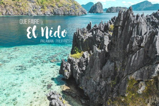 que faire a el nido philippines guide blog