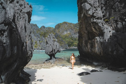 plage de rêve à El Nido aux Philippines blog
