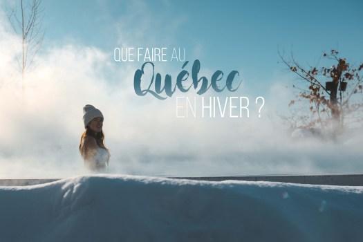 que faire au Québec en hiver