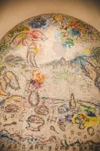 chateau sainte roseline mosaïque chagall