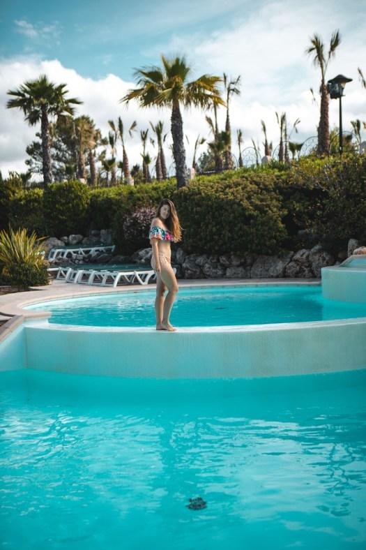 piscine esterel caravaning