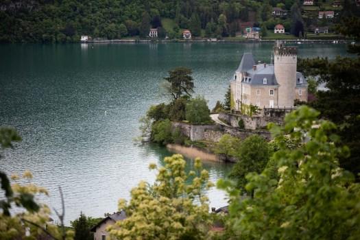 chateau duingt lac d'Annecy