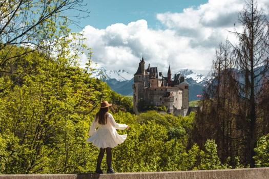chateau menthon lac d'Annecy