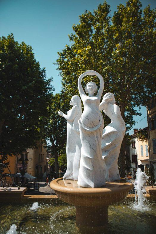 Lorgues village Var photo