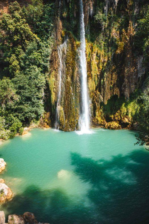 Sillans la Cascade cascade Var