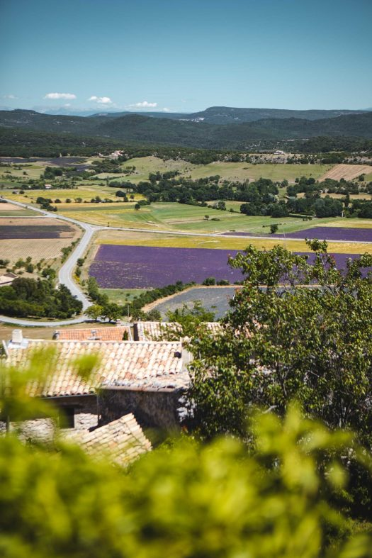 Simiane-la-Rotonde Alpes de Haute Provence village belvédère