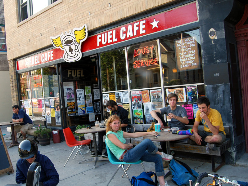 Fuel Cafe (photo stolen from OnMilwaukee.com)