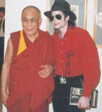 michael jackson dalai lama