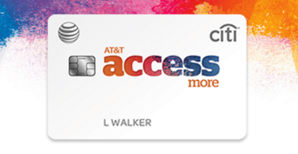 AT & T Access More Citi Credit Card