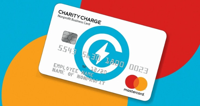 Charity Charge credit card