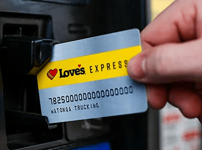 loves Express credit card