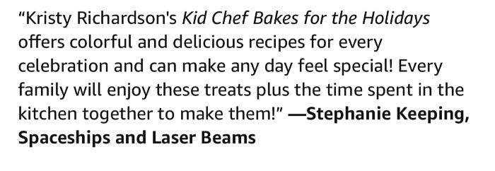 Kid Chef Baked For The Holidays positive review from Stephanie of Spaceships and Laser Beams