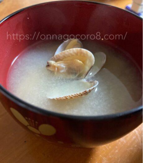 あさりの味噌汁作り方