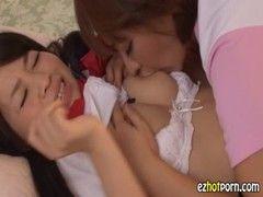 派遣家政婦が激カワ美少女を押し倒してレズ調教するrezu動画