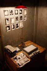 Labora, Kirlian camera and test polaroids