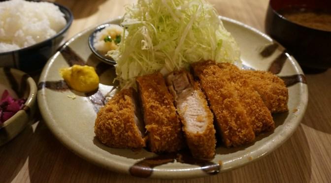 高田馬場「とん久」美味しいとんかつ