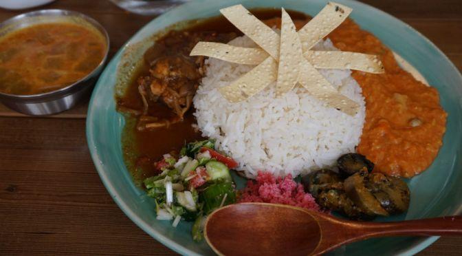 幡ヶ谷「Curry&Spice青い鳥」スリランカカレー&インドカレー