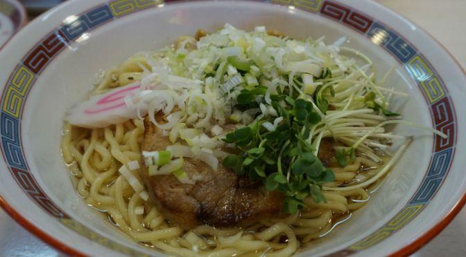 東小金井「宝華」店一番人気のメチャ旨の「宝ソバ」、これを食わなきゃ人生もったいないよ。
