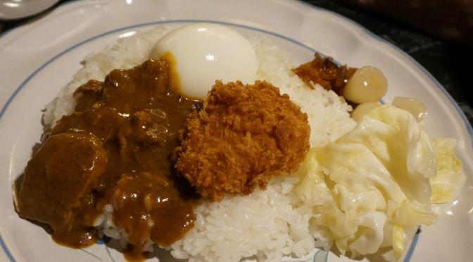 神泉「カイラス」洋食スタイルの美味しいカレーライス、安定の旨さだね。