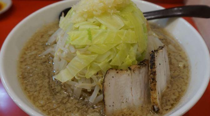 新板橋「珍来」二郎風のラーメンを上品に昇華させた美味しいラーメン。
