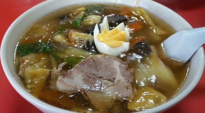 西台「きっちん西田」誰もが納得、スキのない美味しい中華。