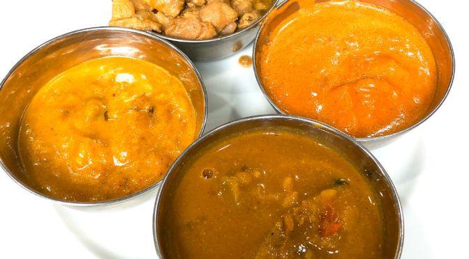 茅場町「スルチ」南インドカレーがブュッフェスタイルで940円、それも食べ放題。