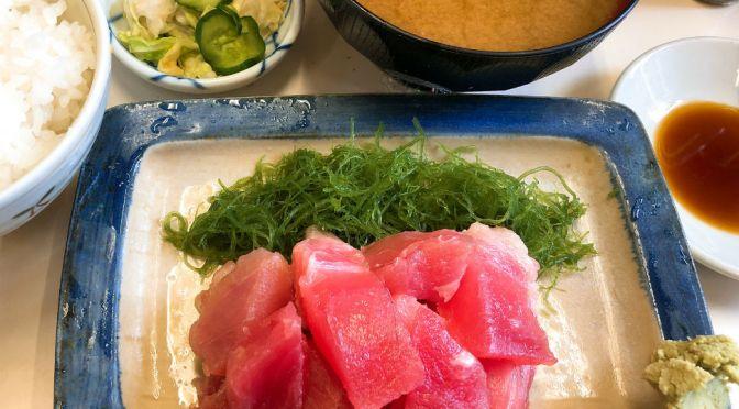浦安「よっちゃん食堂」刺身、天ぷら、フライ、カレーライスなんでも旨い魚市場の味わいの食堂。