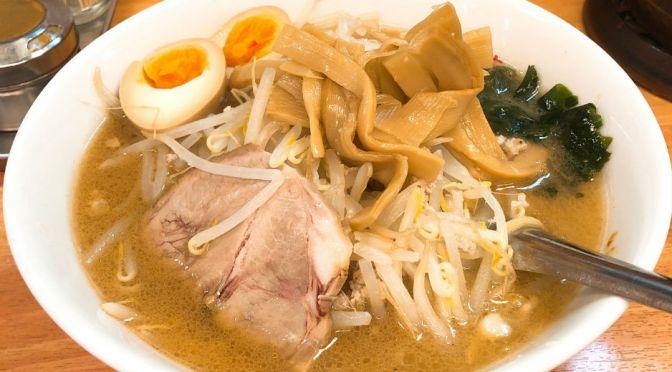 高田馬場「えぞ菊」正しい札幌味噌ラーメン、いつも安心の美味しさ。