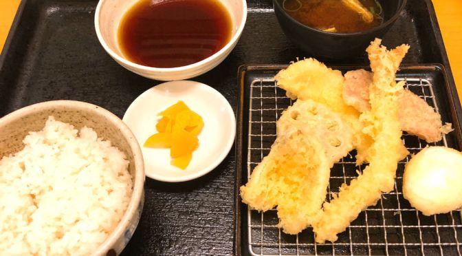 上野「かっちゃん」立ち飲みスタイルの天ぷら屋。