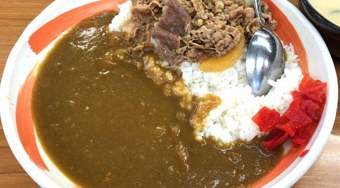 茗荷谷「丼太郎」コスパ最強、牛丼の味わい申し分なし。特筆はカレーライスの美味しさにビックリ。