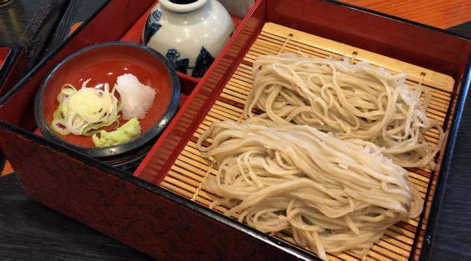 権堂「今むらそば本店」善光寺の表参道で出合った美味しい蕎麦。
