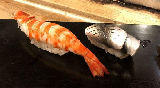 池袋「勇寿司」アットホームでネタの確かな美味しい寿司屋。