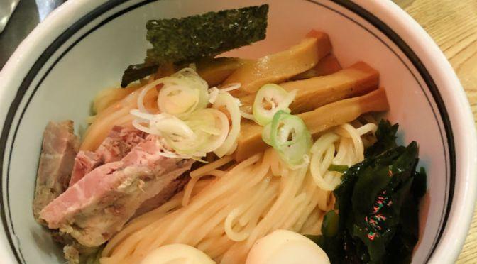 門前仲町「こうかいぼう」初めてつけ麺を食す。美味しかった。
