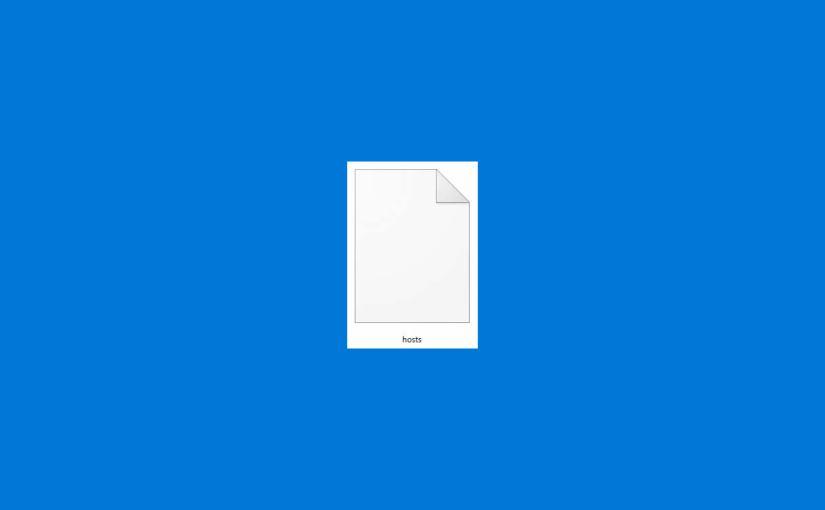 【Windows】hostsファイルとは、hostsファイルの場所、hostsファイルの編集・書き換え方法