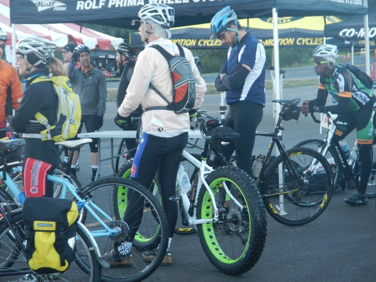 Lots of choices for bikes today