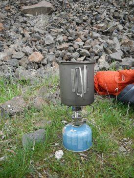 snow peak stove
