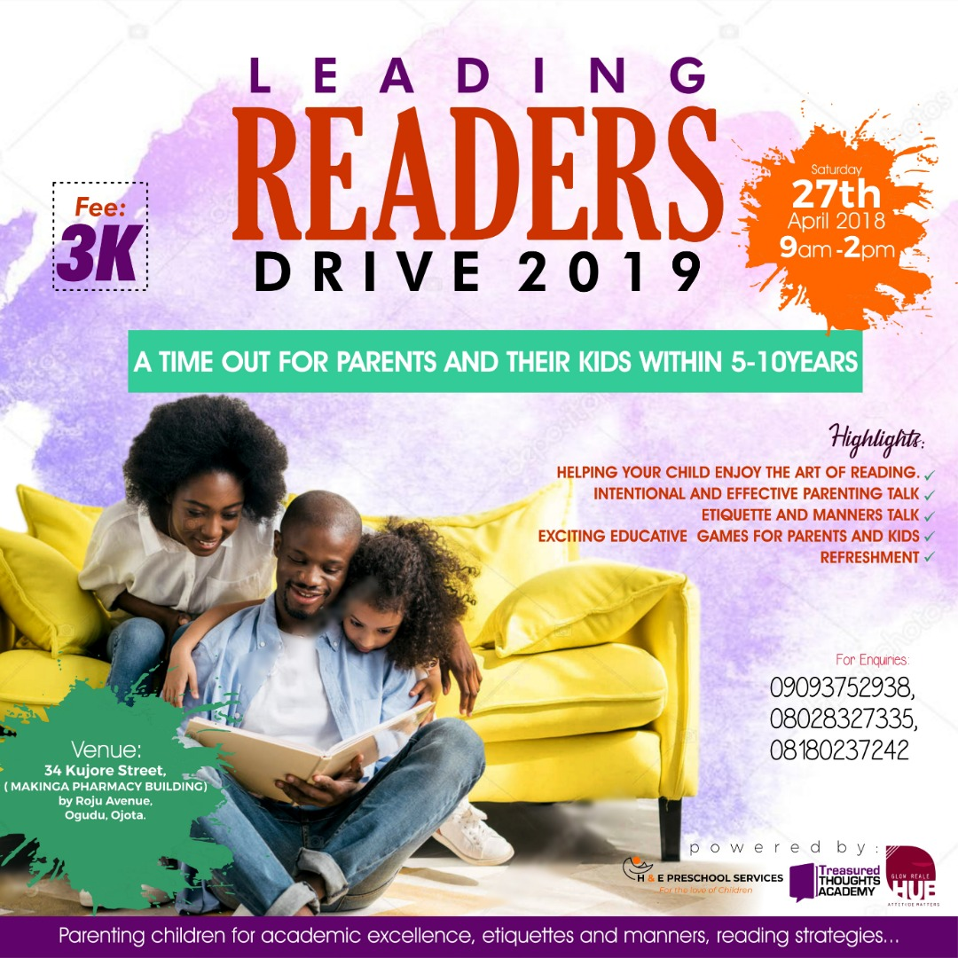 Leading Readers Drive 2019