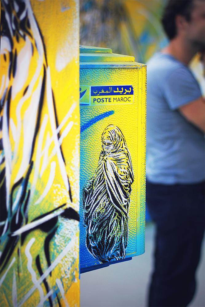 Vernissage de l'exposition Main Street. Crédit : Anouar Oubnichou / ONORIENT
