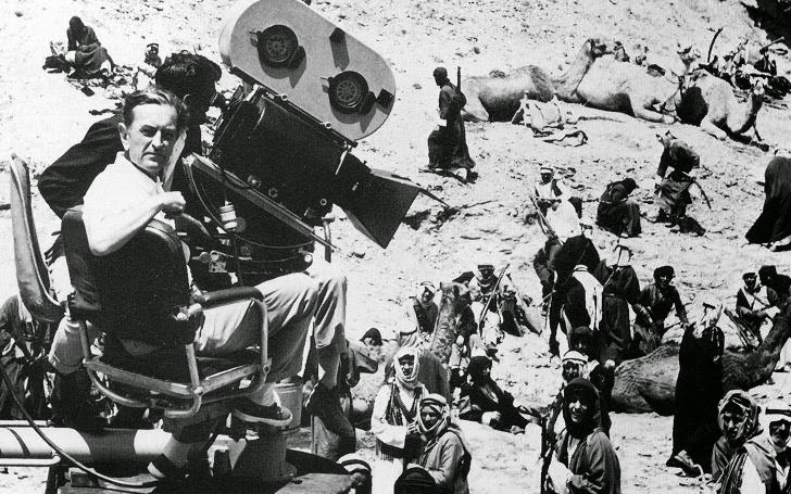 Photo de tournage de Lawrence d'Arabie de David Lean, 1962