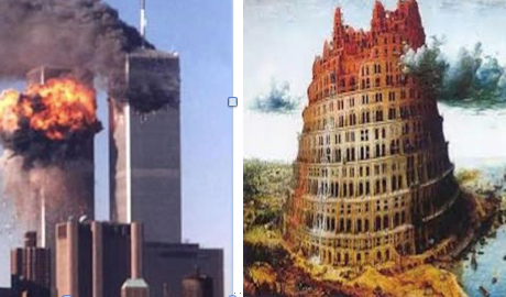 The Twin Towers and Bruegel's Tower of Babel