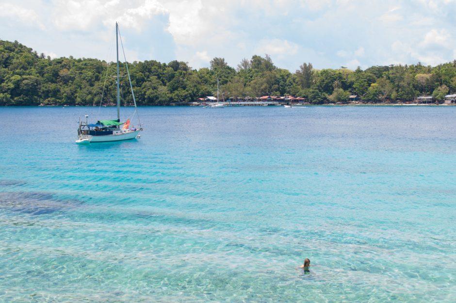 pulau weh vue du bungalow