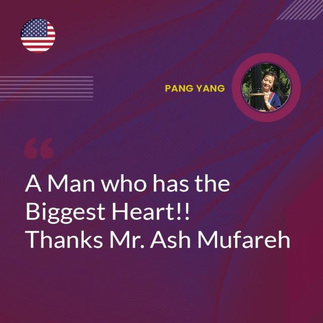 Un homme qui a le plus grand cœur