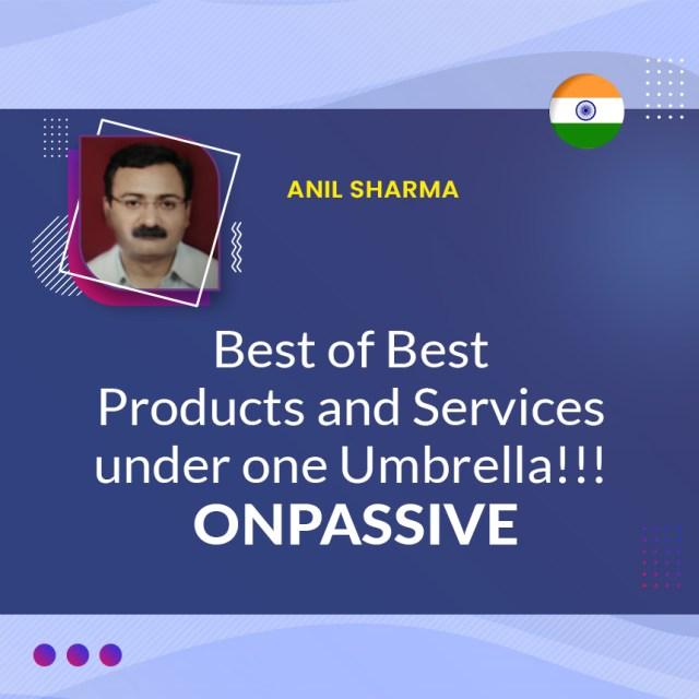 Meilleurs produits et services sous un même parapluie