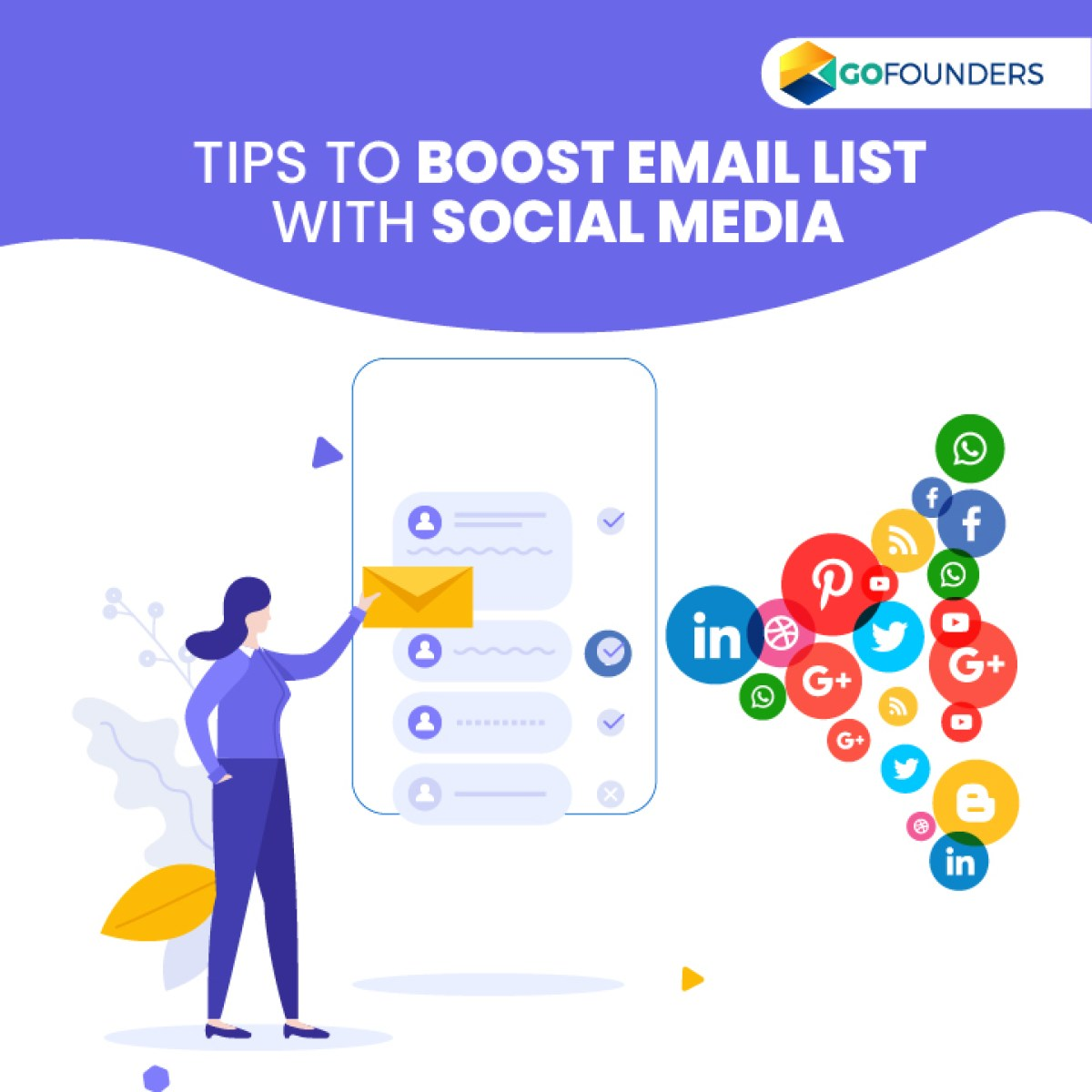 How To Make Effective Use Of Social Media To Boost Your Email List?